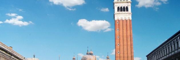 venezia veneto italia campanile di san marco monumento storico antico