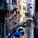 venezia veneto italia gondole lago case sull'acqua strada antico